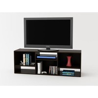 "TV Stand or Shelving Unit for TVs up to 55"", Espresso - Walmart.com"