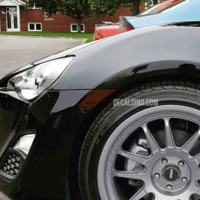 Fits FR-S / BRZ / T86 Reflector Overlay Tint / Decals