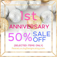 ANNIVERSARY SALE ***Selected Items Only*** Please do not purchase this listing***