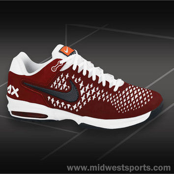 lowest price 51f69 e4867 Nike Air Max Cage Mens Team Tennis Shoe from Midwest Sports