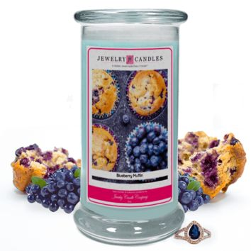 Blueberry Muffin Jewelry Candle