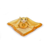 Disney Baby The Lion King Simba Security Blanket and Ring Rattle Set