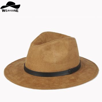 *online exclusive* felt wide brim fedora