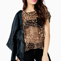 Call Of The Wild Leopard Tee