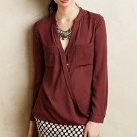 Eva Wrap Blouse by Maeve