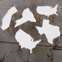 ANY STATE Side Table - Customizable and Available in 12 Colors