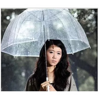 "34"" Big Clear Cute Bubble Deep Dome Umbrella"