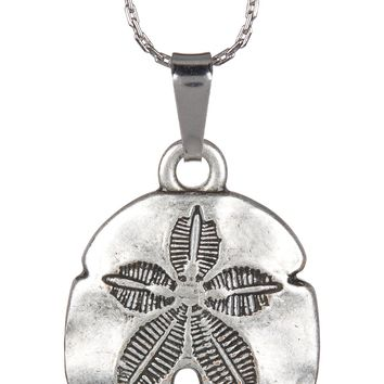 Alex and Ani | Silver Sand Dollar II Engraved Necklace | Nordstrom Rack