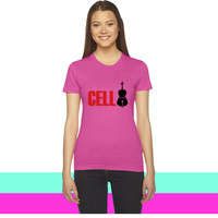 cello women T-shirt