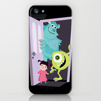 Monsters inc. iPhone & iPod Case by Maria Jose Da Luz