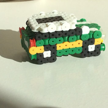 3D Perler Bead Green Bay Packers Car