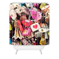 Catherine McDonald What The World Needs Now Shower Curtain
