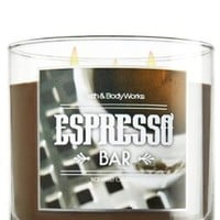 Bath & Body Works Espresso Bar 14.5 Oz. 3-wick Candle