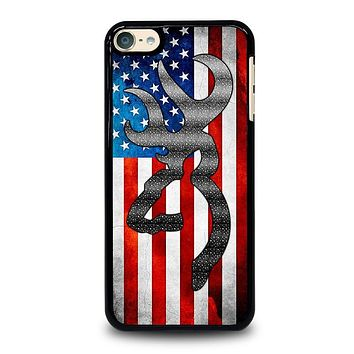 BROWNING CAMO AMERICAN FLAG iPod 4 5 6 Case