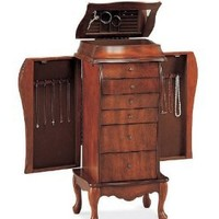 Beautifully Crafted Jewelry Armoire Lingerie Chest