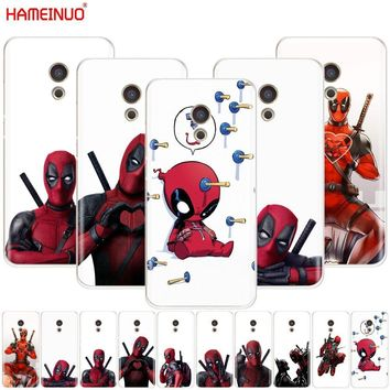 Deadpool Dead pool Taco HAMEINUO 3D Super Cool Marvel  Cover phone Case for Meizu M6 M5 M5S M2 M3 M3S MX4 MX5 MX6 PRO 6 5 U10 U20 note plus AT_70_6