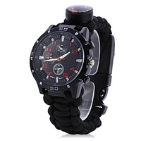 6-in-1 Outdoor Survival Watch