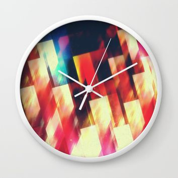 Brain circus Wall Clock by Kardiak | Society6