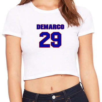 Demarco Murray Name Crop T-shirt