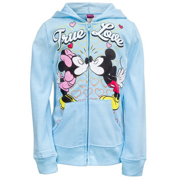 Mickey Mouse - True Love Girls Juvy Zip Hoodie