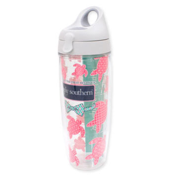 24oz Simply Southern All Over Turtle Tervis Water Bottle