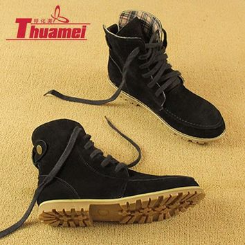 new-arrival-warm-black-women-snow-boots-women-s-fashion-autumn-boots-winter-motorcycle number 1