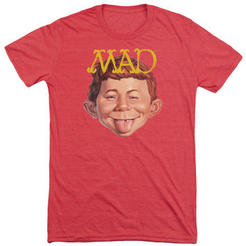 Mad Magazine Absolutely Mad Adult Soft Tri Blend T-Shirt