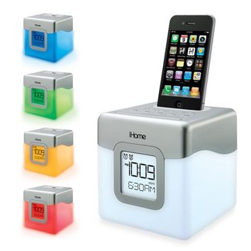 Ihome Ip18w Led Color Changing Dual From Bed Bath Beyond