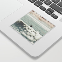 Surf San Diego California Sticker by SoCal Chic Photography