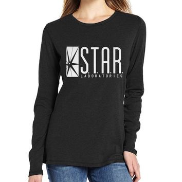 women long sleeve o-neck star war t shirts brand clothing funny t-shirts femme tops tee 2017 spring autumn new fashion t shirts