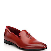 Alexander McQueen - Skull Leather Loafers - Saks Fifth Avenue Mobile