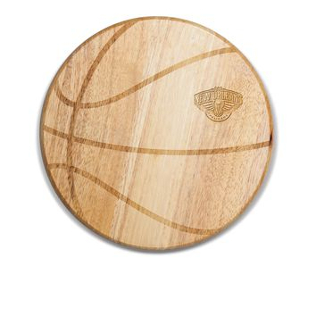 New Orleans Pelicans - 'Free Throw' Basketball Cutting Board & Serving Tray by Picnic Time