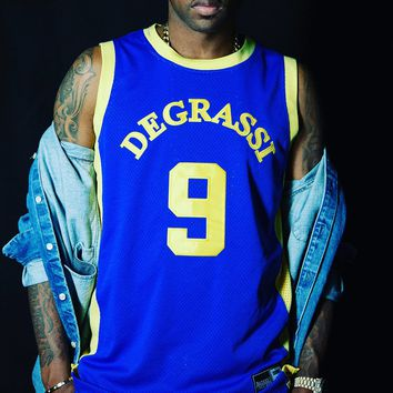 Degrassi 9 Drake Basketball Jersey
