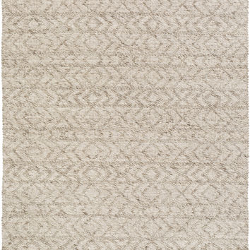 Surya Ingrid Solids and Tonals Area Rug Neutral
