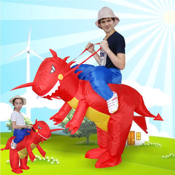 Inflatable T-Rex Costume Kids