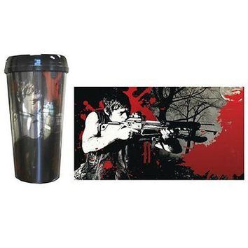 The Walking Dead Daryl Dixon Crossbow Travel Mug