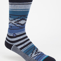 Stance Salter Classic Crew Mens Socks Blue One Size For Men 26704220001