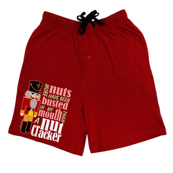 More Nuts Busted - My Mouth Adult Lounge Shorts by