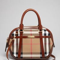 Burberry Satchel - Small Orchard Check