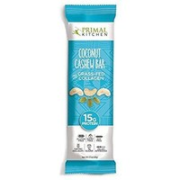 Primal Kitchen Coconut Cashew Bar; 15g Protein And Collagen - Pack of 12