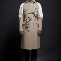 Sleeveless Trench Coat with Over Jacket | NOT JUST A LABEL