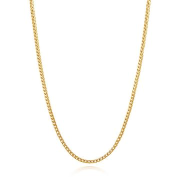 Men's Squared Gold Chain