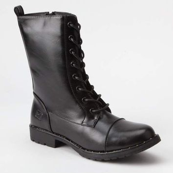 DIRTY LAUNDRY Radix Womens Combat Boots | Boots + Booties