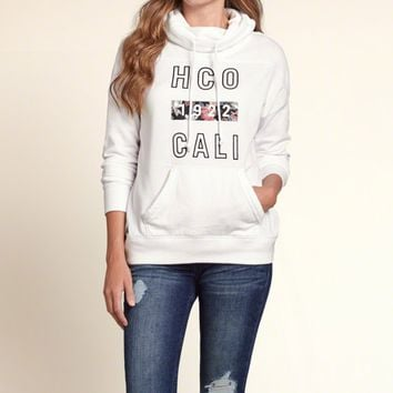 HOLLISTER Cashmere sweater female collar sleeve head