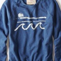 AEO Men's Graphic Crew Sweatshirt