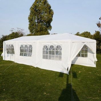 10'x30'Heavy duty Gazebo Canopy Outdoor Party Wedding Tent