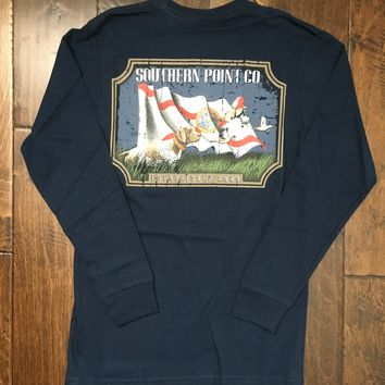 Southern Point Co - LS State Traditions Florida - Navy