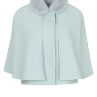 REDValentino - Cloak - cape Women - Coats and jackets Women on Valentino Online Boutique