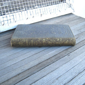 1851 Cloth-Covered 'Elliott on Slavery; Vol 1' - Sinfulness of American Slavery - Historical Document - Collectible Americana