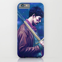 His name....Merlin iPhone & iPod Case by Chelsea Bee